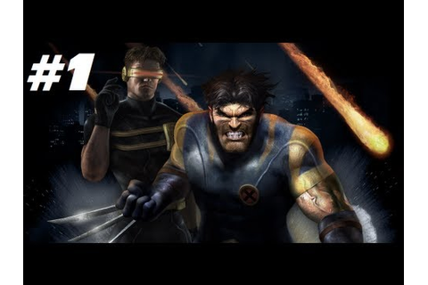 X-Men Legends - Part 1: Wolverine - YouTube