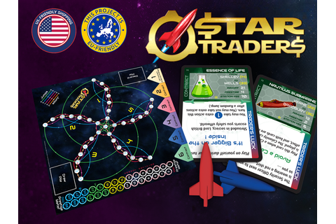 Star Traders by David Ladyman / Trader's Luck Games ...