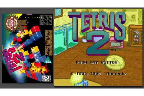 Tetris 2 SNES [OST] 1-Player Music A - YouTube