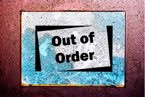 Out of order signs - KLOV/VAPS Coin-op Videogame, Pinball ...