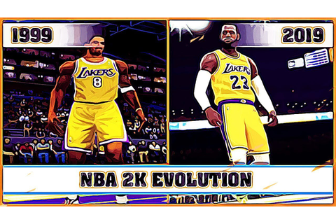 NBA 2K evolution [1999 - 2019] - YouTube
