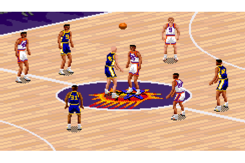 #SunsTBT: NBA Live 95 is the Greatest Basketball Video ...