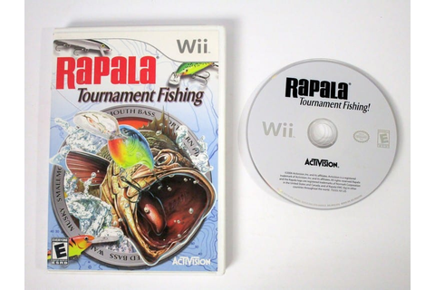 Rapala Tournament Fishing game for Wii | The Game Guy