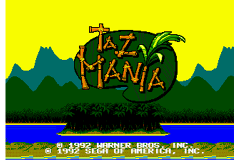 Play Taz-Mania Sega Genesis online | Play retro games ...