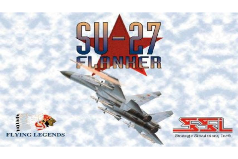 SU-27 Flanker gameplay (PC Game, 1995) - YouTube