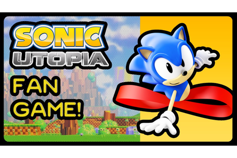 SONIC UTOPIA - Fan Game! (4K/60fps) - YouTube