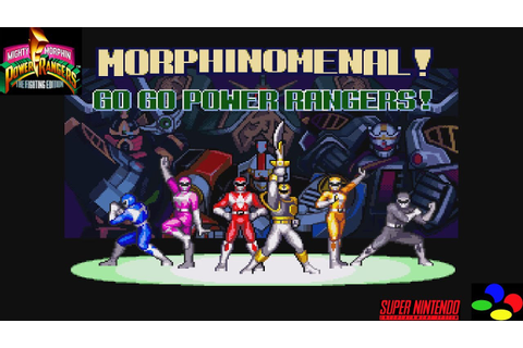 Let's Play Mighty Morphin Power Rangers The Fighting ...