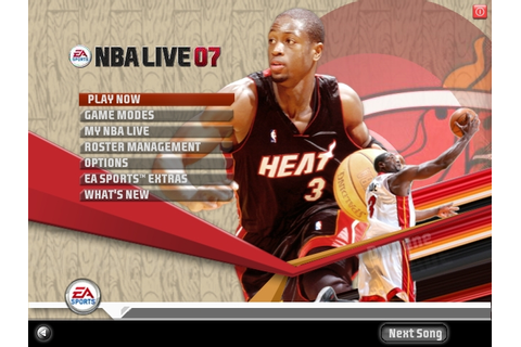 Nba live 07 free download ~ pc game