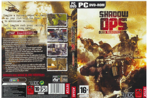 SHADOW OPS Red Mercury PC-DVD-GAME | World's Best Torrents ...