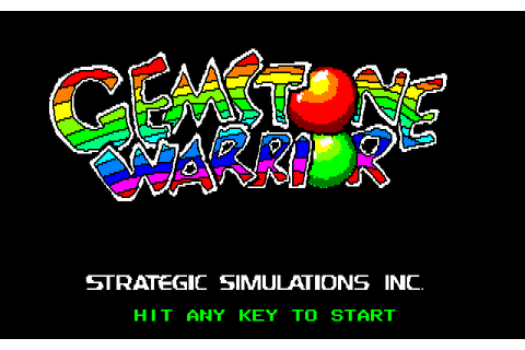 Gemstone Warrior (1986) by Starcraft NEC PC8801 game