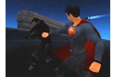 Man of Steel Video Game Trailer