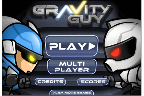 gamekiw games: Gravity Guy