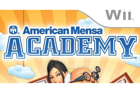 American Mensa Academy Wii Game Free Download ~ Full Games ...