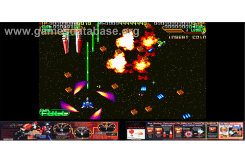 Mars Matrix: Hyper Solid Shooting - Arcade - Games Database