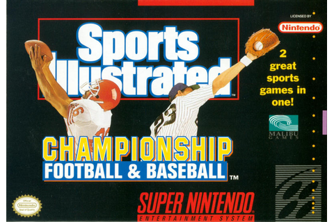 Sports Illustrated Championship Football & Baseball for ...