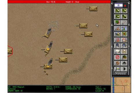 Steel Panthers 2 - Modern Battles | Old DOS Games ...