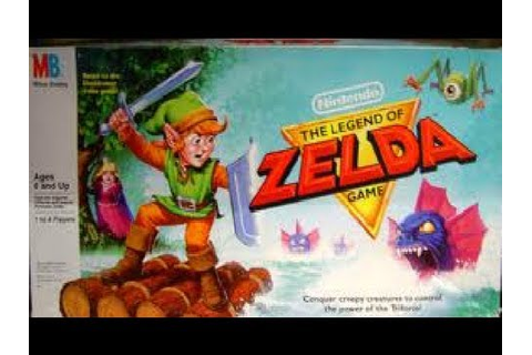 The Legend of Zelda Board Game | 8-Bit Eric - YouTube