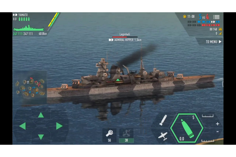 Battle Of Warships Yamato GamePlay! - YouTube