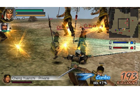 Dynasty Warriors Vol 2 ISO PPSSPP – isoroms.com
