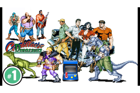 cadillacs and dinosaurs - Game Coop Arcade CPS-1 1993 ...