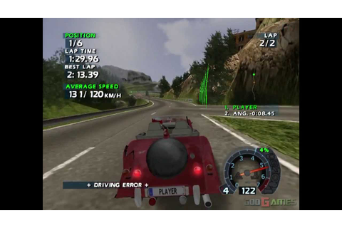 World Racing 2 - Gameplay PS2 HD 720P (PCSX2) - YouTube