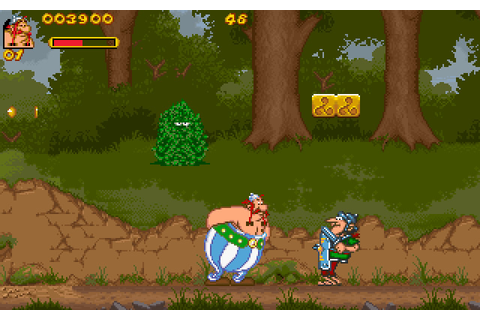 Download Asterix and Obelix action for DOS (1996 ...