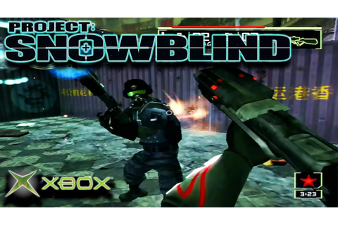 Project Snowblind: Team Deathmatch | Original Xbox Game ...