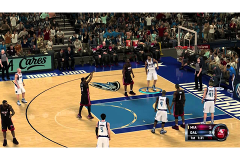 NBA 2K12 XBOX 360 Demo Gameplay - YouTube
