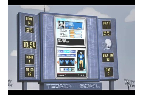Tecmo Bowl: Kickoff OFFICIAL Trailer - YouTube