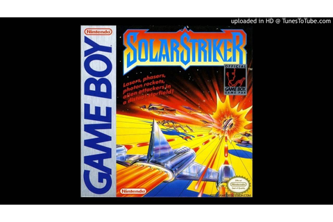 14_Solar Striker - Game Over - YouTube