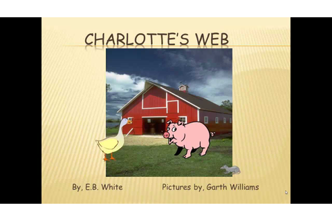 Charlotte's Web Game 1 - YouTube