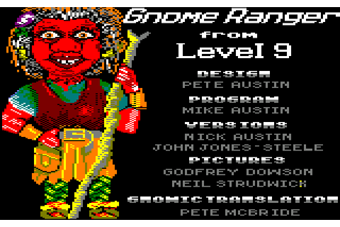 Gnome Ranger (1987) by Level 9 Computing Amstrad CPC game