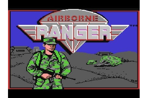 Let's Play: Airborne Ranger (C64) 01 - YouTube