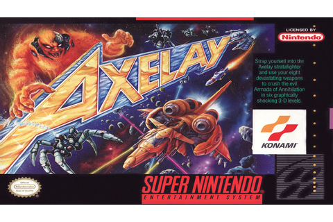 SNES Longplay - Axelay (Hard Perfect) - YouTube