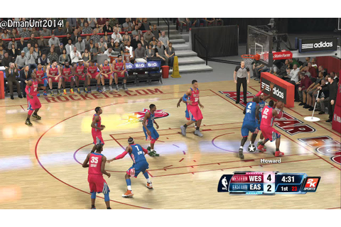 Playstation 4 NBA 2K14 All-Star Game HD Game Play ...