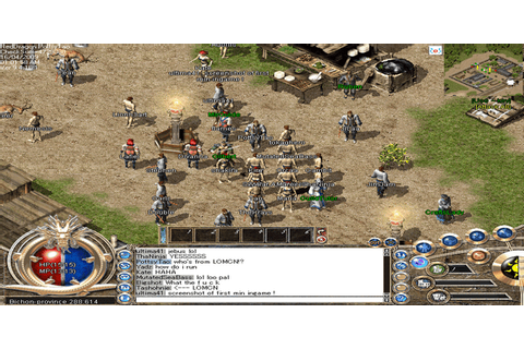 Anyone else play this? Legend of mir 2 : MMORPG