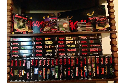 Atari Jaguar games | Atari Jaguar Video Game Console ...