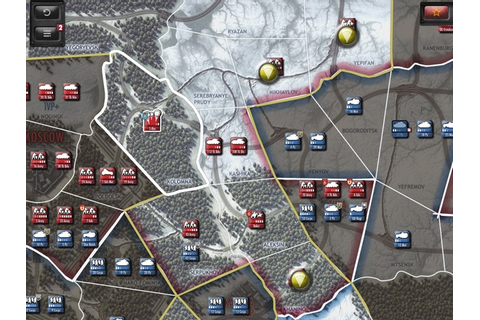 Drive on Moscow iPad Wargame Updated & On Sale – Universal ...