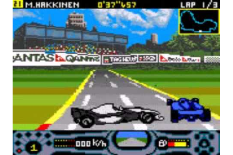 Game Boy Color F1 Racing Championship - YouTube