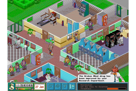 Download Theme Hospital | Abandonia
