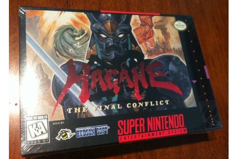 Retro Treasures: Hagane: The Final Conflict (SNES)