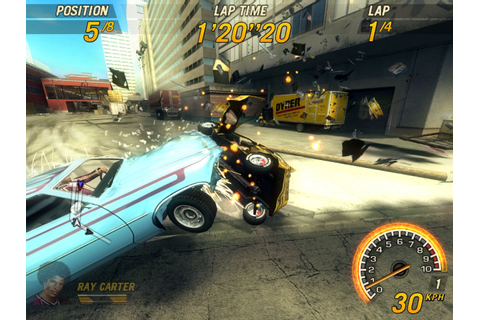 Download Free Games Compressed For Pc: flatout 2 game Download