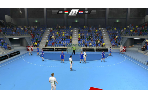 IHF Handball Challenge 12 [HD] gameplay - YouTube