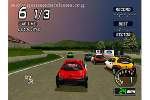 Ford Racing - Sony Playstation - Games Database