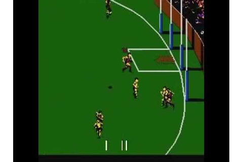 Aussie Rules Footy (NES) - YouTube