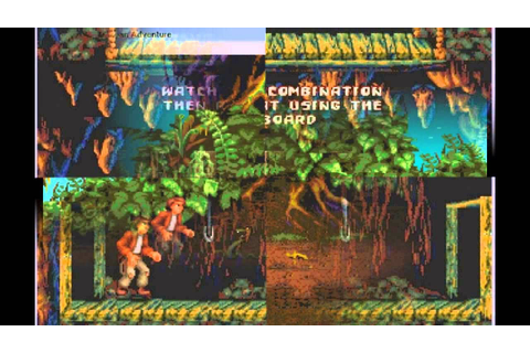 Pitfall The Mayan Adventure PC 1995 Gameplay | Игры PC ...