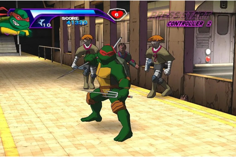 Totally Turtle Games – Teenage Mutant Ninja Turtles (2003 ...