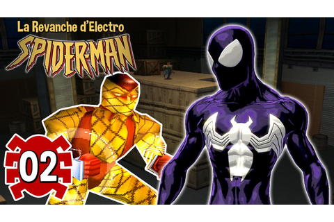 SYMBIOTE & SHOCKER #2 Spider-man 2 La Revanche d'Electro ...