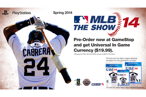 MLB 14 The Show On PS4 Is The Only Next-Gen Baseball Game ...