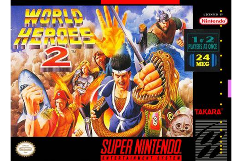 World Heroes 2 (USA) ROM
